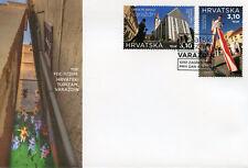 Croatia 2018 FDC Varazdin Tourism 2v Set Cover Churches Architecture Stamps