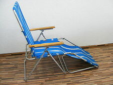 Elderly chair, folding chair GDR, Camping Chair, 70er retro cult years camping