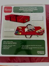 Gift Wrap Organizer/Wrapping Table~Under Bed Storage Box New  in Package