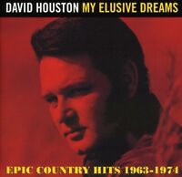 David Houston - My Elusive Dreams: Epic Country Hits 1963 - 1974 [New CD]