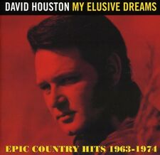 David Houston - My Elusive Dreams: Epic Country Hits 1963 - 1974 [New CD]