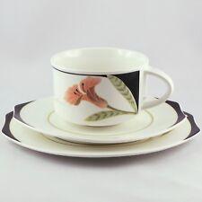 Tasse Sous Tasse IRIS Faïence VILLEROY & BOCH porcelain/limoges/20th/coffee cup