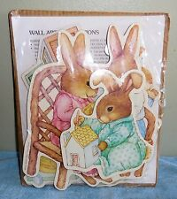 Susan Wheeler, Holly Pond Hill 6 Piece Baby Bunny Nursery Wall Art (New - Other)