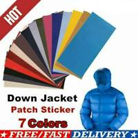 7 Colors DIY Self-Adhesive Cloth Patch Down Jacket Leather Repair Patch Stickers