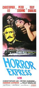 Horror Express 1972 Christopher Lee, Peter Cushing  Horror Film DVD
