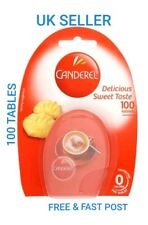 100 x Canderel Tablets Sugar Substitute Low Zero Calorie Sweetener Tea & Coffee