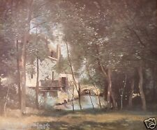 Jean-Baptiste COROT (1796-1875) Oeuvre / toile Moulin de Saint-Nicolas-les-Arras