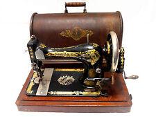 OFERTA►Antigua maquina de coser SINGER de FLORES año 1903 FUNCIONA►