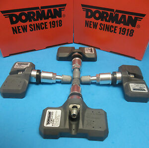4 TPMS Sensor Kits for Chrysler Dodge Jeep RAM OEM # 56029319AA