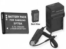 Battery + Charger Samsung for PL200 PL201 PL-200 ST100