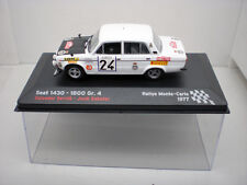 COCHE SEAT 1430 1800 Gr.4 1:43 IXO model car rally fiat SERVIA SABATER 1977