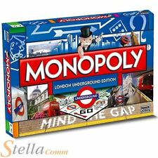 Monopoly London Underground Edition Family Property Trading Board Game