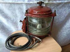 RARE old Vintage Retro Light lamp Lantern USSR SOVIET Ship Navy