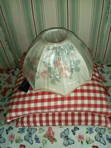 Vintage DORMA Floral Cottage Lampshade with Tassels - BNWT * RARE *