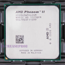 AMD Phenom II X4 840 HDX840WFK42GM CPU Processor 667 MHz 3.2 GHz Socket AM3