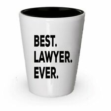 Best Lawyer Ever Shot Glass - Lawyer Gifts For Men Women Future Lawyers -...