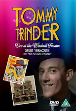 "TOMMY TRINDER ""LIVE"" AT THE WINDMILL THEATRE GREAT YARMOUTH DVD 1979"