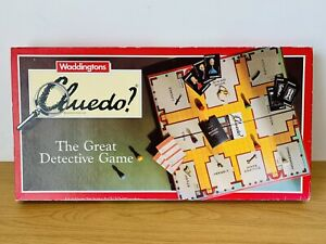 Vintage 1990s Waddingtons Cluedo The Great Detective Board Game - Complete