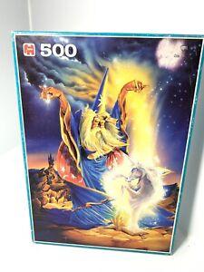 "Vintage 500pc Jigsaw Puzzle ""The Magician"" Bernard Hugill Jumbo Holland 49x35cm"