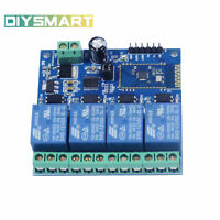 4-Channel 12V/10A Bluetooth Relay Module Mobile Remote Control Switch AU