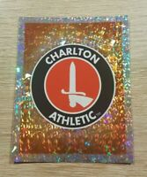 Merlin Premier League 2001 38 Charlton Logo Badge Refractor Topps Panini