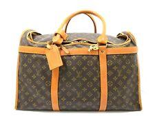 Auth Louis Vuitton Sac Chaussures Monogram Carrier Bag M41922 Vintage Rare 48106