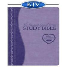 Remnant Study Bible KJV (Special Forces Lavender)