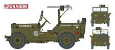 1:4-Ton 4X4 Truck W/.30-Cal Machine Gun Kit DRAGON 1:6 DR75050