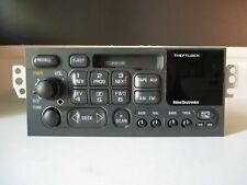 Chevy Delco AM/FM radio Cassette player w/aux input for 95-02 car/truck 16213851