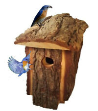 Best Wooden  Birdhouse Traditional Natural Looking Pine To Attract Birds