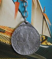"""Rare Keyring from the wreck of """" Batavia ' Pewter Replica, Past Sailing Ships."""