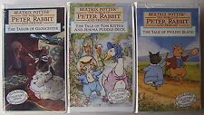 THE WORLD OF PETER RABBIT AND FRIENDS Beatrix Potter 3 VHS  Brand New 1993 - 7