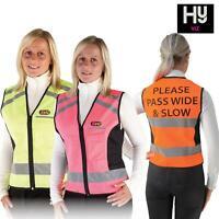HyViz Waistcoat Please Pass Wide & Slow Reflective Horse Riding Vest Adult/Kids