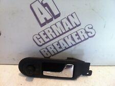 99-04 VW PASSAT OSF DRIVER FRONT INNER DOOR HANDLE & MIRROR SWITCH 3B2837114