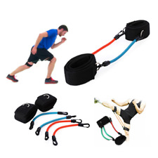 Gym Fitness Exercise Resistance Leg Bands Loop Power Speed Agility Training Tool
