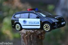 Bburago Burago Ford Focus Estate Poland Police Car Polish Policja Wagon 1:43 New