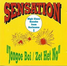 Sensation - Jongoe Boi Cd Surinaamse muziek  new cd.