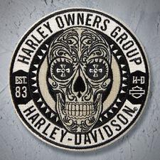 Sugar Skull Patch ~ Harley Davidson Owners Group HOG  H.O.G.