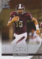 2016 Leaf Draft Football Dak Prescott Rookie Card Dallas Cowboys Mississippi St