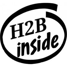 h2b inside white h22 h22a h2b h23 race vinyl sticker intel