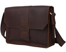 NWT Men's Vogue Real Leather Shoulder Bag Cross Body Sling Messenger Bag Tiding