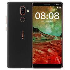 "Nokia 7 Plus Black 6"" 4GB/64GB RAM Octa-Core Snapdragon 660 Phone UK SHIP"