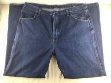 Rustler Mens 40x32 Dark Wash Regular Fit Bootcut Denim Jeans