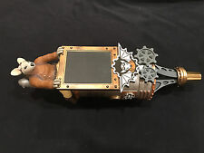 ULTRA RARE! Flying Mouse Brewery Steampunk beer tap handle - NEW & AMAZING!