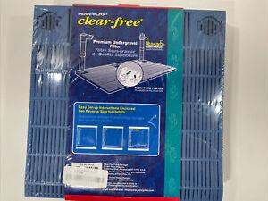 Penn-Plax Clear Free Premium Undergravel Filter 40-55 Gal Aquariums Fresh/Salt W
