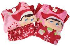 Elf on The Shelf Department Store Girls Set 2 Fleece Pajama Set 2 piece sets 6