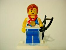LEGO 8909 New COMPLETE #3 Agile Archer Guy Collectible Minifigure Team GB Series