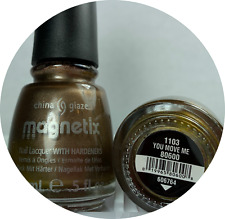 China Glaze Nail Polish YOU MOVE ME 1103 * Discontinued Magnetic Lacquer