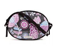 VERA BRADLEY Shimmer Crossbody Bag Purse ALPINE FLORAL Evening $58 NEW