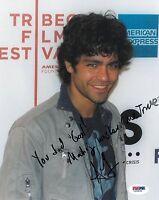 Adrian Grenier Signed Entourage Authentic Autographed 8x10 Photo PSA/DNA #V26935